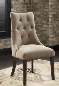 Mestler Side Chair By by Mestler Light Brown Upholstered Side Chair Set Of 2 From