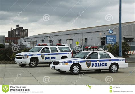 Port Authority Police New York New Jersey Providing Security For Emerald Princess Cruise Ship ...