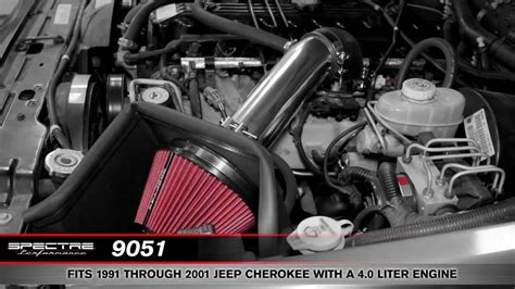 install  spectre air intake     jeep