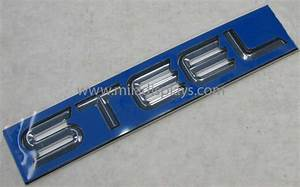 mila displays automotive nameplates automotive emblems With custom plastic letters