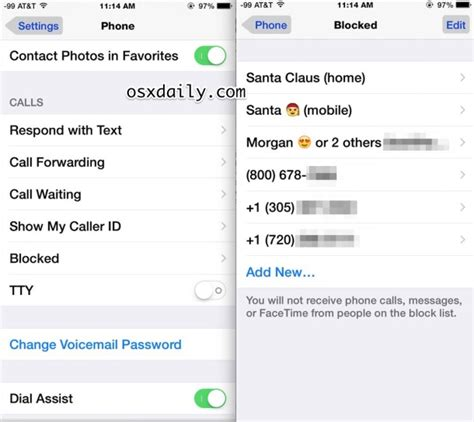 how to unblock contacts on iphone how to unblock a caller on iphone