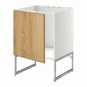 Ikea Metod Unterschrank : metod unterschrank f r sp le hyttan eichenfurnier ikea ~ Watch28wear.com Haus und Dekorationen