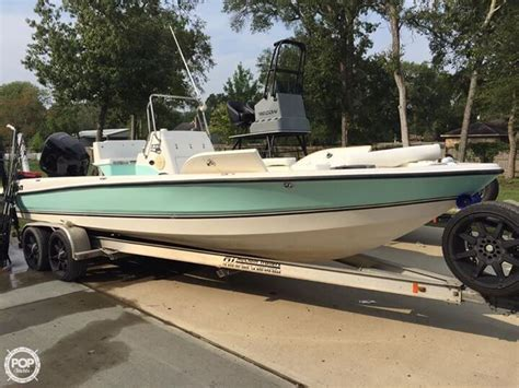 Tritoon Boats For Sale Houston by Used Bay Boats For Sale In Boats