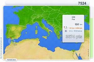 Mapa interactivo del Mediterráneo Ciudades del Mar Mediterráneo Juegos Geográficos Mapas