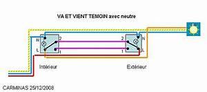 Cabler Un Va Et Vient : comment cabler repiquer depuis cet interrupteur 20 messages ~ Voncanada.com Idées de Décoration