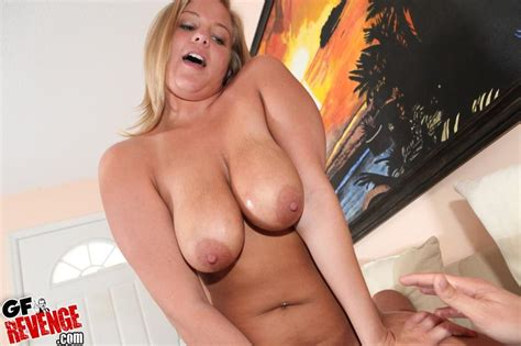 Busty Blonde Anabelle Pync Films A Sex Tape At Home Coed