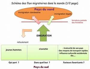 Histgeolb  Sch U00e9ma Des Flux Migratoires