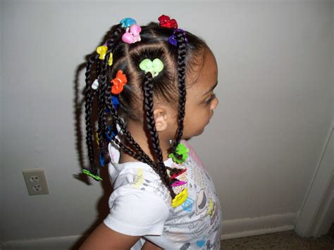 Cute Kids Hairstyles (braids, Ponytails