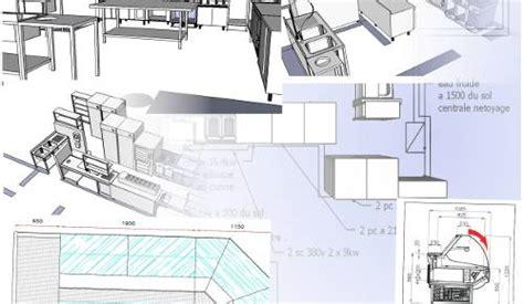 plan cuisine professionnelle normes plan de cuisine professionnelle maison design bahbe