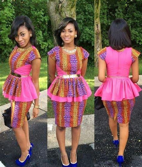 beautiful ankara skirt and blouse style fashion prints fashion