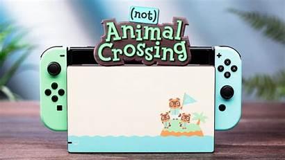 Crossing Animal Switch Skins Con Joy Dock