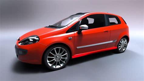 Fiat Model by Fiat Punto Sport 3d Model Max Obj Cgtrader