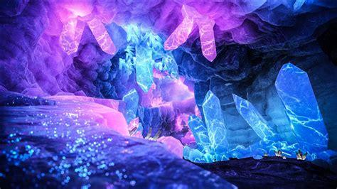 pin  aaron blows  crystal cave   fantasy