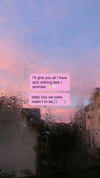 Wallpapers Aesthetic Quotes Message Quote Desktop Sky