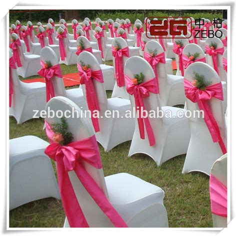 cheap wholesale decoration chair covers and sashes for