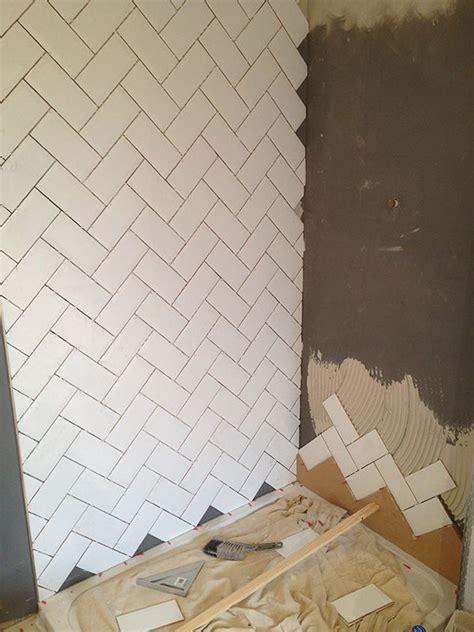 herringbone tile ideas  pinterest herringbone shower tiles  marble herringbone tile