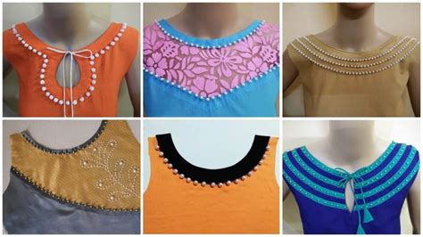 Boat Neck Design Kurti Images by Neck Designs For Kurtis Simple Craft Ideas