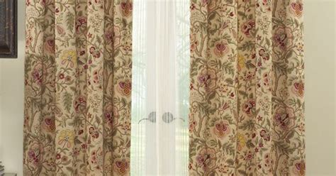 imperial dress antique curtains by waverly jacobean