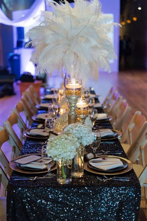 Glamorous Great Gatsby Wedding Inspiration #