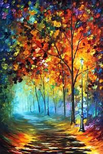 Leonid Afremov,... Famous Paintings