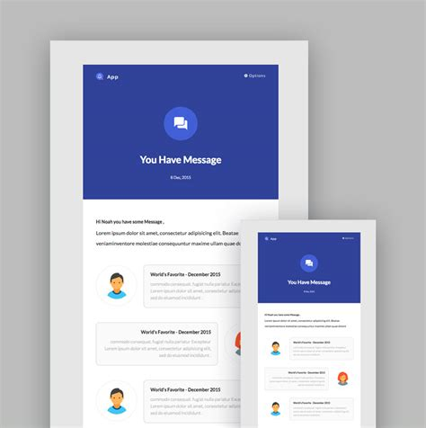 mailchimp responsive email templates