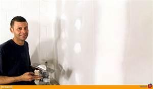 Enduit De Lissage Au Rouleau Pour Plafond : enduit de lissage pour plaques de fermacell ecobati ~ Premium-room.com Idées de Décoration