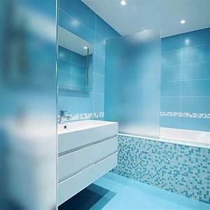 film adhesif depoli incolore pour paroi de douche With carrelage adhesif salle de bain avec lumiere piscine led