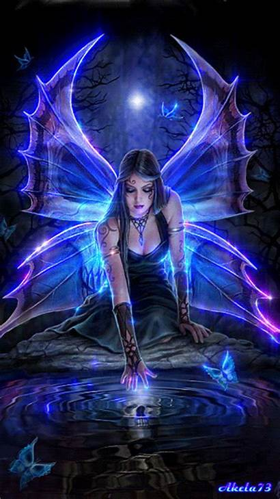 Animated Creatures Fantasy Gifs Mythical Fairy Angel