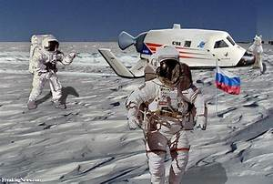 Russians on Moon Pictures - Freaking News