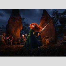 Merida Swings A Sword In New 'brave' Stills