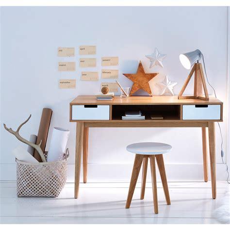 bureaux vintage bureau vintage jimi en bois naturel