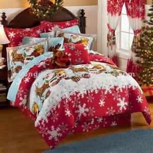 100 cotton printed christmas bedding set buy christmas bedding set christmas bed sheet