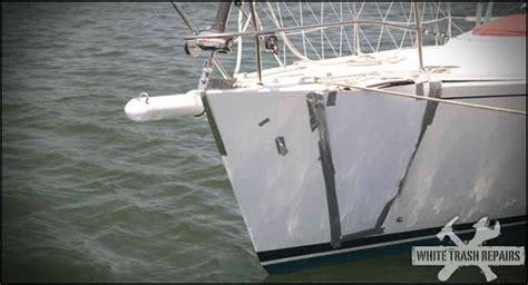 Trash Boat Ideas by White Trash Boat Repair Whitetrashrepairs