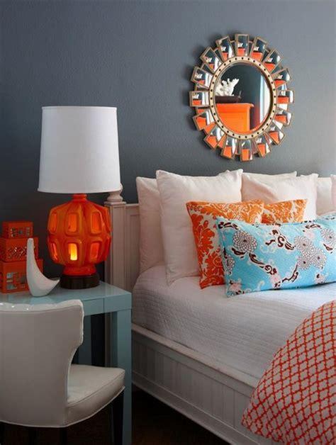 Orange Grey And Turquoise Living Room by Best 25 Grey Orange Bedroom Ideas On Orange