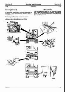Jcb Js130w Js145w Js160w Js175w Wheeled Excavators Service