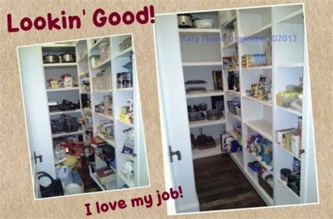 Pantry Organization Before & After Pics