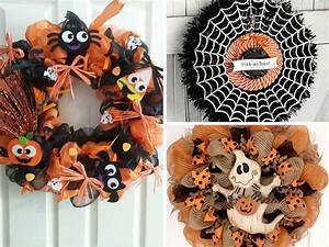 The Best Halloween Wreath Ideas For Non-Crafters! * My