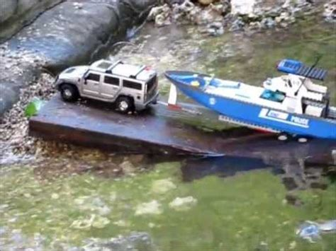 Rc Boat Trailer Launch by Boat Launch