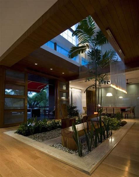 houses with atriums inside modern luxury house design new delhi residence pictures