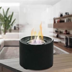 Chauffage à L éthanol : chemin e bio thanol 2kw h design moderne oxford nero fp ~ Premium-room.com Idées de Décoration
