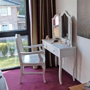 Coiffeuse Sans Miroir : coiffeuse madrid avec 3 grands miroirs et 2 tiroirs blanc meilleures offres pour chaise ~ Teatrodelosmanantiales.com Idées de Décoration