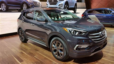 2017 hyundai santa fe review top speed