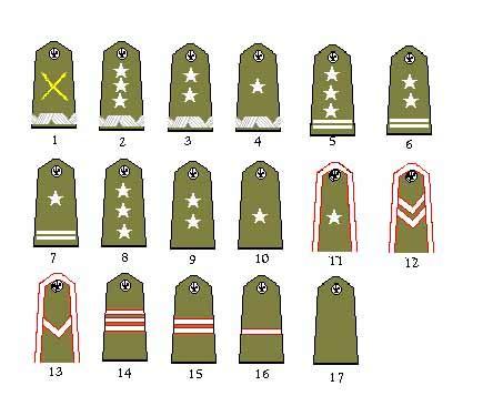 Polish Military Ranks