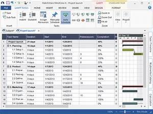 gantt chart template mindview gantt chart software With what is a gantt chart template