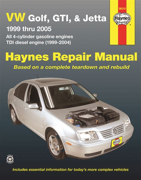 hayes auto repair manual 2002 volkswagen jetta lane departure warning 96018 haynes repair manual vw golf jetta 99 05 ebay