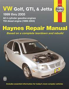 96018 Haynes Repair Manual Vw Golf  U0026 Jetta   U0026 39 99