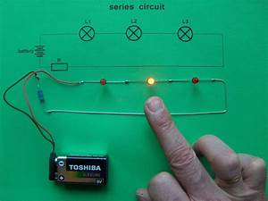 Series Circuit Leds Switches Youtube