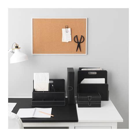 accessoires bureau ikea rissla desk organiser black ikea