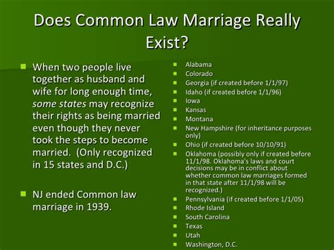 common marriage marriage divorce annulment ppt
