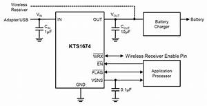 Kts1674 Ovp Switch With Reverse Blocking And 100v Surge Protection